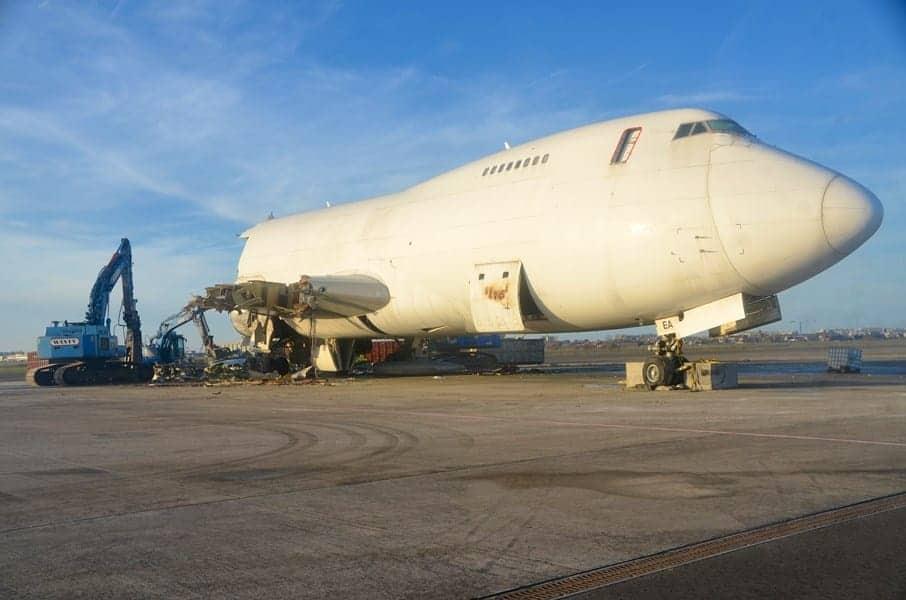 démolition avions
