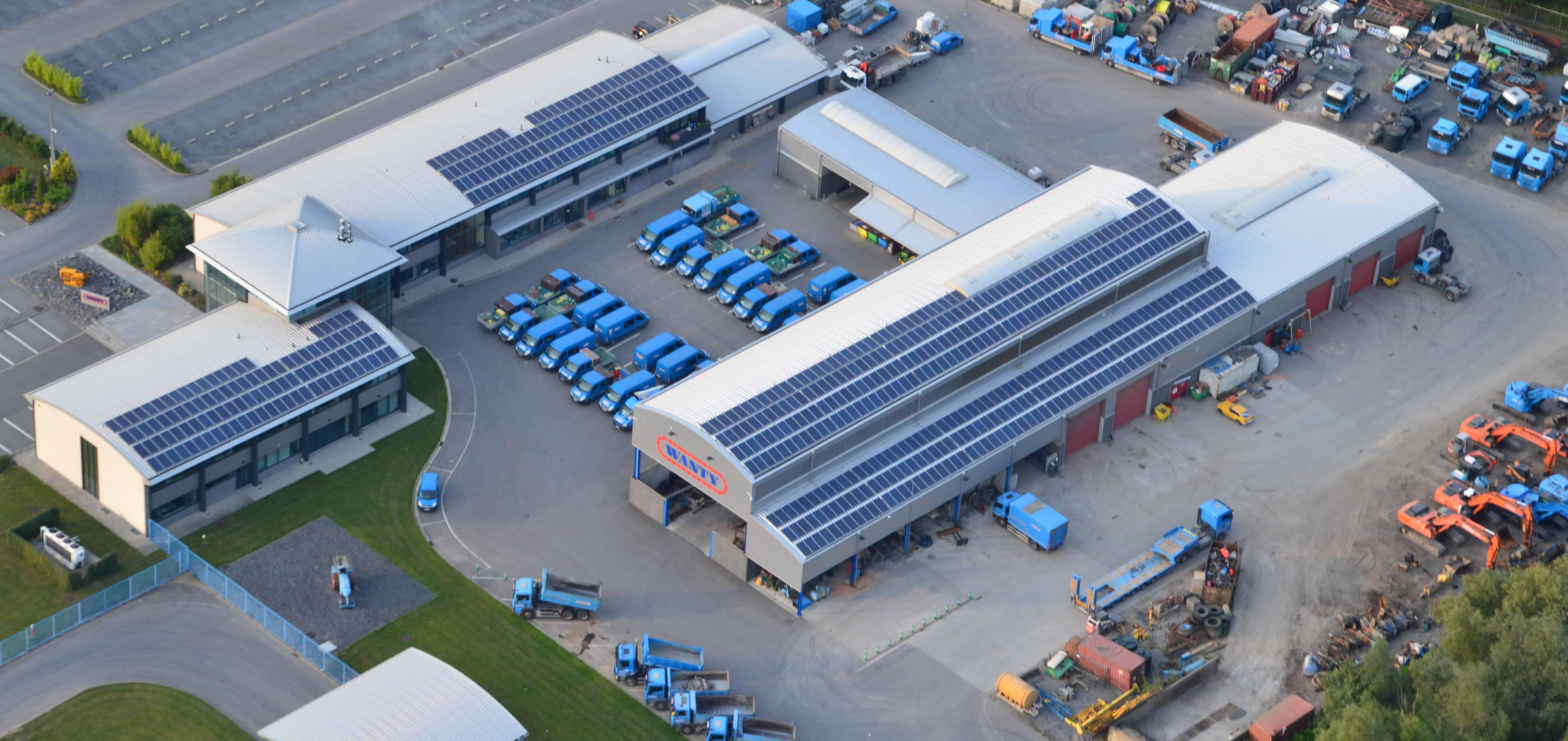 Nos établissements sont équipés de 500 panneaux solaires