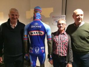 Le nouveau maillot 2018 de l'Amicale Cycliste Binchoise