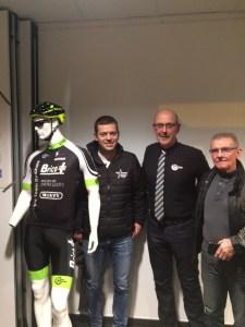 Le nouveau maillot 2018 du Vélo Team Binchois