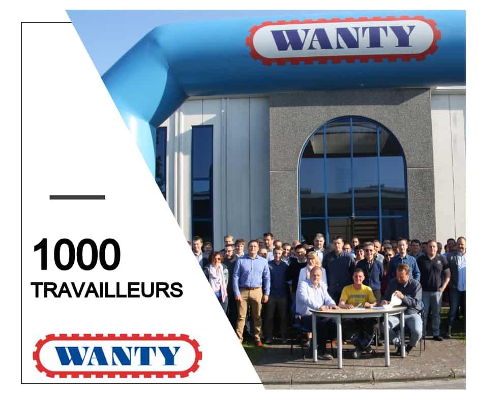 Arnaud, le 1000ème travailleur du groupe Wanty