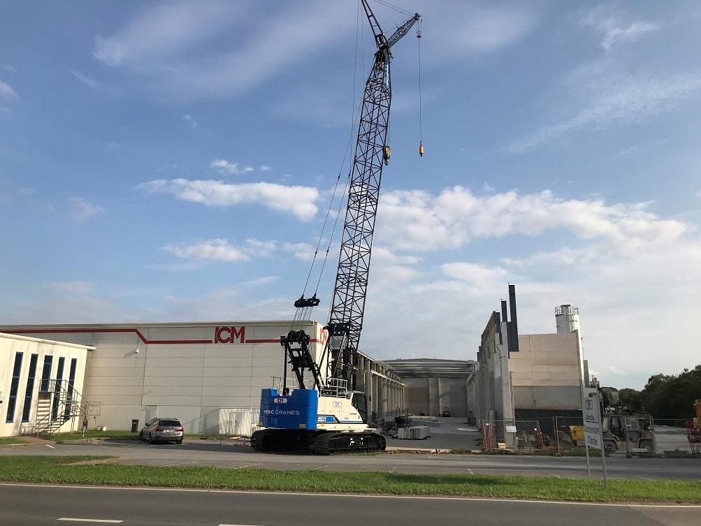 La nouvelle extension sera opérationnelle en mai 2019.