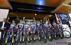 Notre équipe au grand départ du Tour de France 2017 à Düsseldorf.