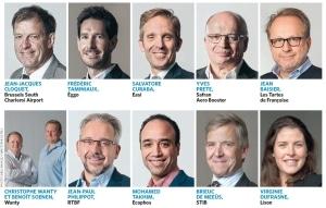 Les 10 finalistes élus par un jury de professionnels