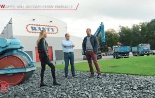 """""""Wanty, une PME hennuyère devenue un géant du secteur de la construction"""""""