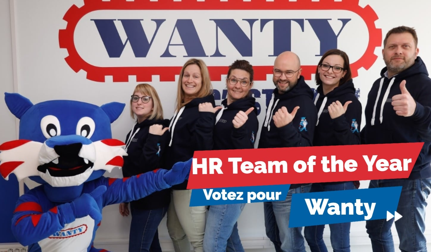 Wanty, finaliste  du HR MANAGER OF THE YEAR© / HR TEAM OF THE YEAR© AWARD 2019
