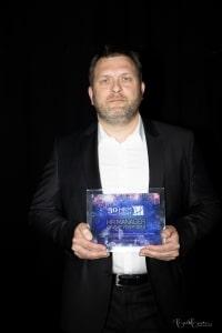 Arnaud Delmarche, lauréat de l'Award du HR Manager.