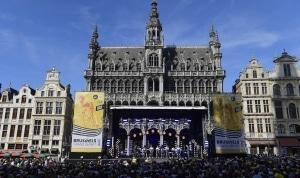 1. Le Grand Départ, depuis Bruxelles.