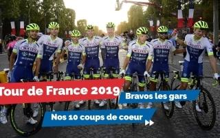 Des frissons, des performances et de l'émotion pour cette 3e participation au Tour de France.