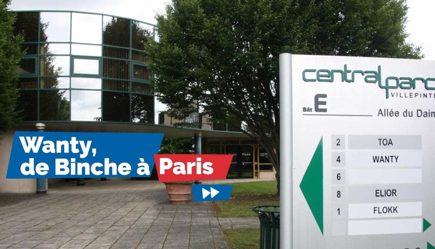 Les nouveaux bureaux sont basés au Central Parc de Villepinte