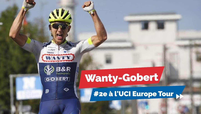 En 2019 encore, Wanty-Gobert fait partie des meilleures équipes du monde