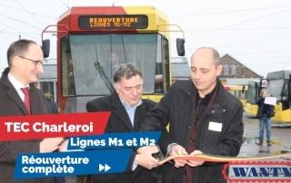 Les métros circulent à nouveau entre les stations Pétria et Monument à Anderlues.
