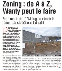 ICM - Gazette 8 janvier
